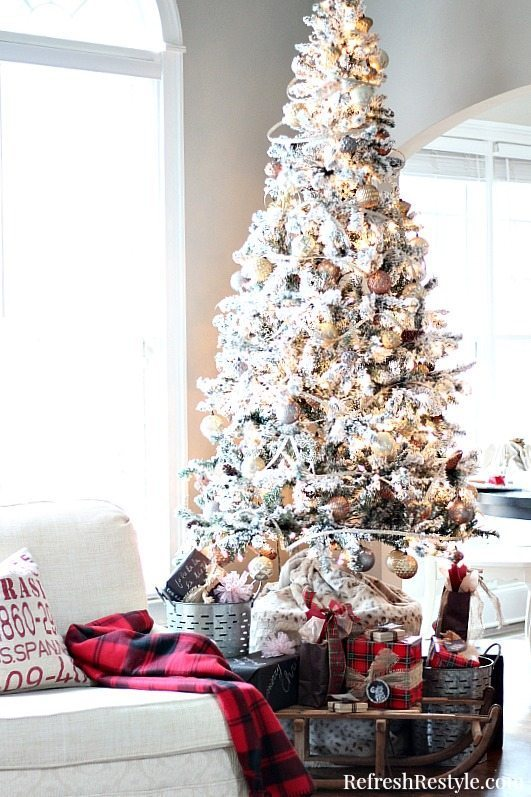 Natural Christmas Decor Refresh Restyle