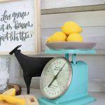 Vintage Kitchen Scales Makeover Refresh Restyle