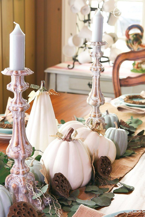 White Pumpkins Our Southern Home