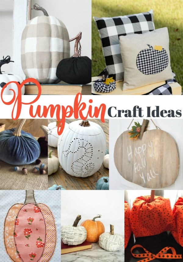 Pumpkin Craft Ideas Our Southern Home