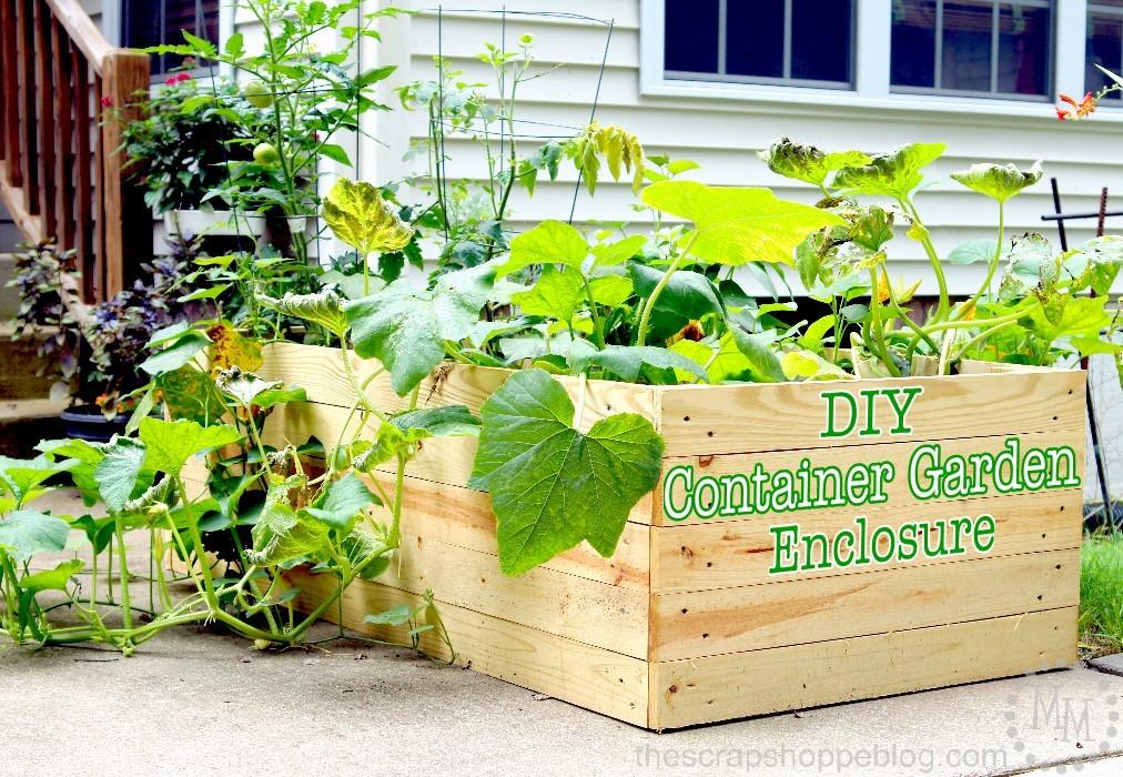 diy-container-garden-enclosure
