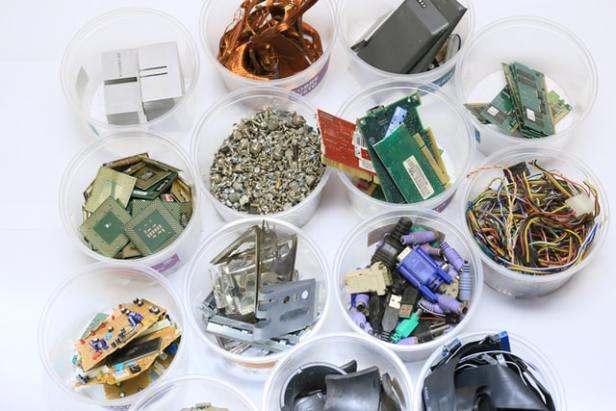 e-waste separation