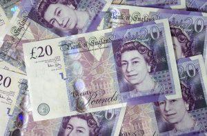 twenty pund notes