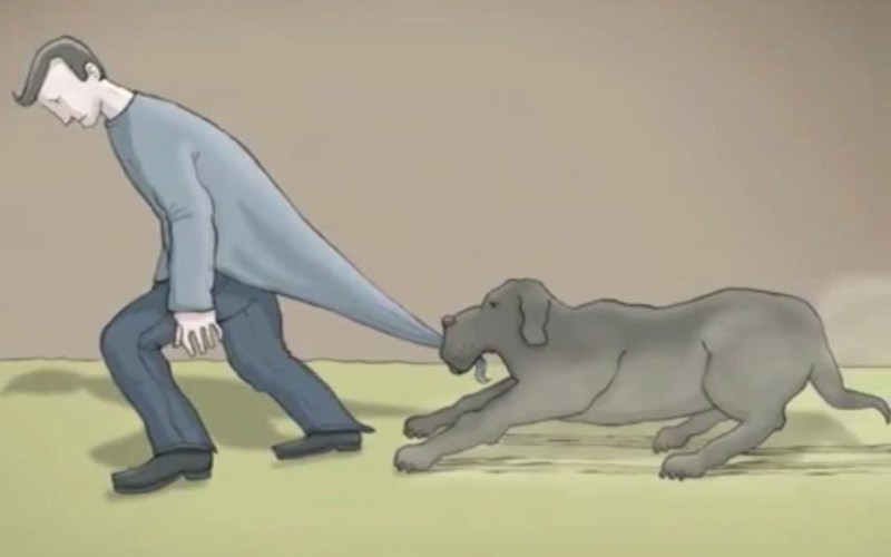 black dog of depression