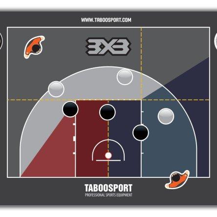 Pregameset 3×3 basketball