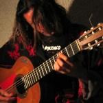 musicien au refuge