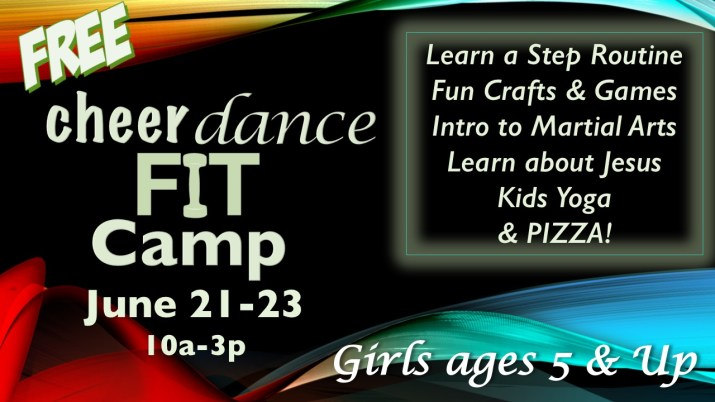 cheerdancefit camp