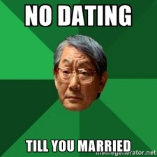 no dating married