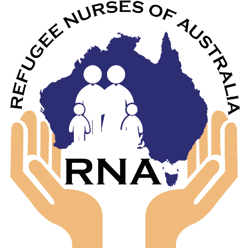Logo of the Refugee Nurse of Australia
