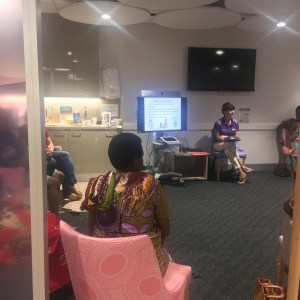 Community education at Breastscreen QLD