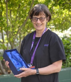 Refugee Health Nurse Practitioner Merilyn Spratling receives CCOIE Multicultural Excellence Award