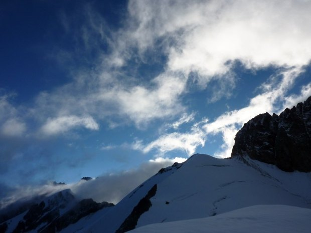 Epaule de l'Aguille des Glaciers (vue du Dôme des Glaciers)