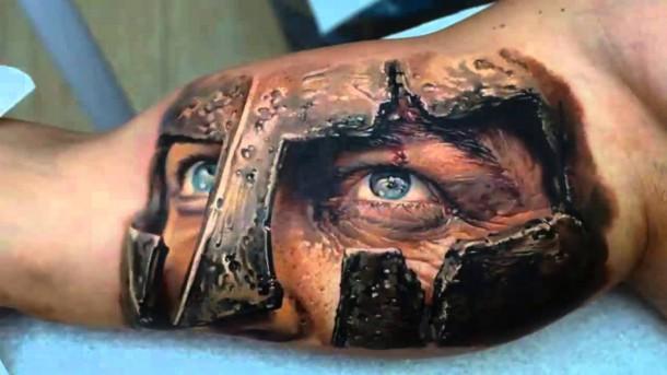 3d-tattoo-gladiador