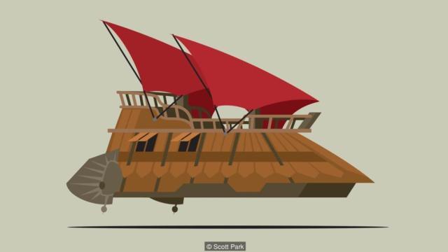 Jabba the Hutt's sail barge, Khetanna