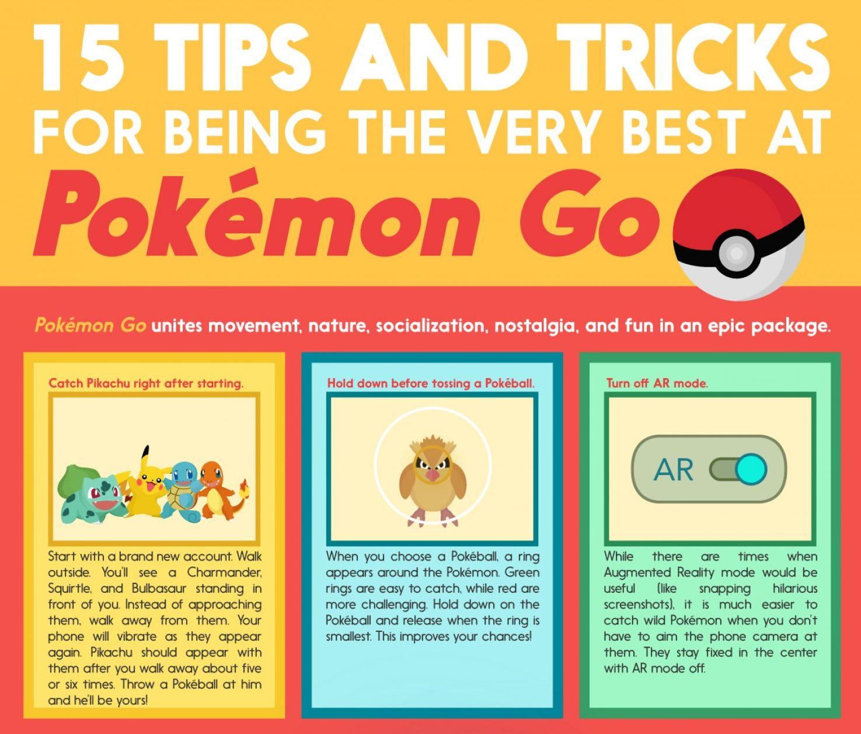 15 trucos y consejos para ser el mejor al Pokémon Go. Click para ampliar