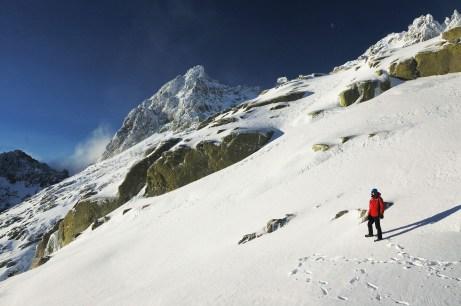 El pico Almanzor.