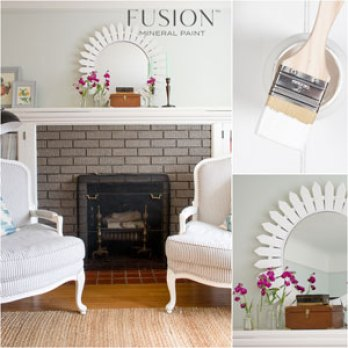 Fusion Mineral Paint Picket Fence