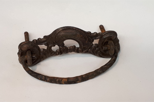 antique metal hardware