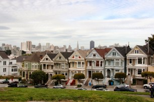 The Pink Ladies en Alamo Square