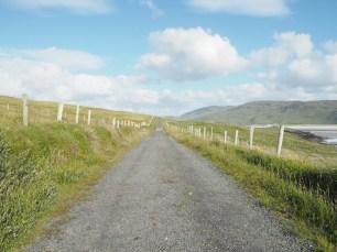 Carretera en Ardara