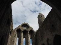 Restos de la Catedral en Rock of Cashel
