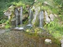 Cascada en Blarney Castle Gardens