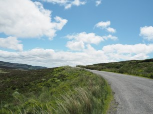 Paisaje en Wicklow Mountains