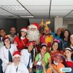 Los Payasos Terapéuticos llevan alegría al Hospital JM de Los Ríos.
