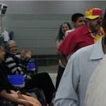 Sonrisas en el Servicio de Oncología Del Hospital Dr. Domingo Luciani