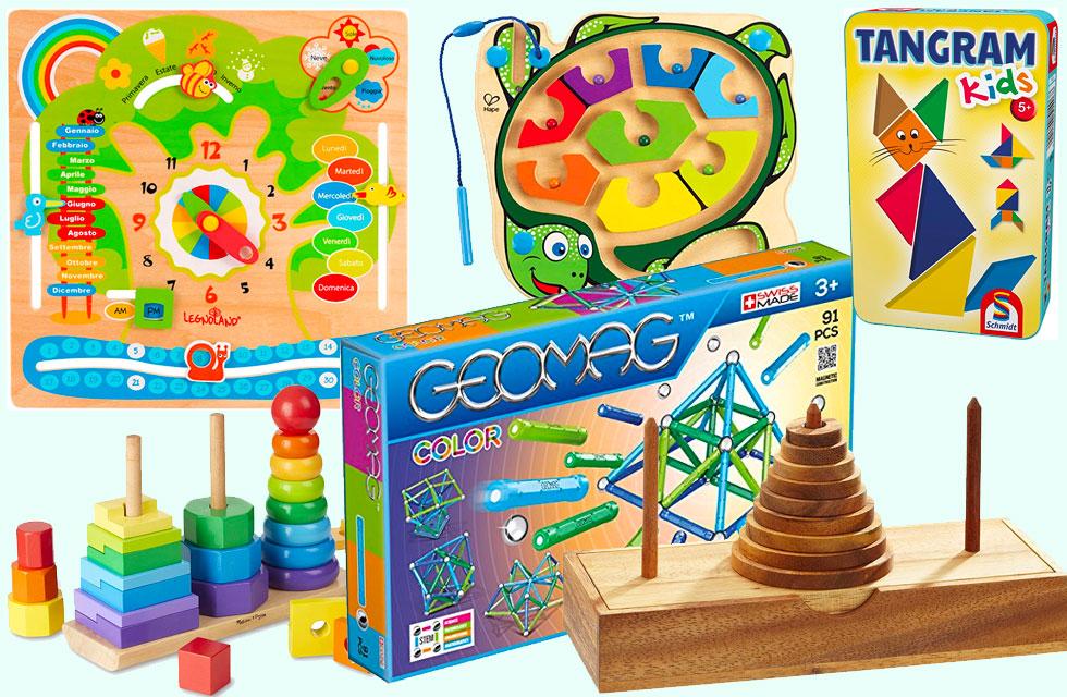 i migliori giochi didattici per bambini