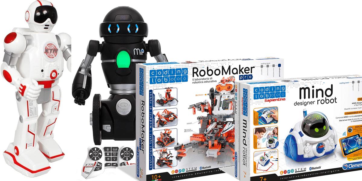migliori robot per bambini