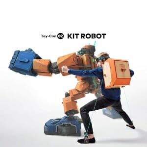 Regali per Ragazzi  NintendoLaboKitRobot-NintendoSwitch-Regalo Kit Robot Nintendo Labo con Nintendo Switch