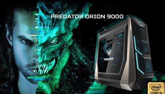 Gadget Oggetti Fantastici Regali per Ragazzi Regali per uomo  AcerPredatorOrion9000DesktopPCProcessoreIntelCore-Regalo Acer Predator Orion 9000: Il PC gaming Opulento