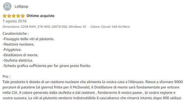 Gadget Oggetti Fantastici  ViboxLegendComment2 Vibox Legend il PC Stellare