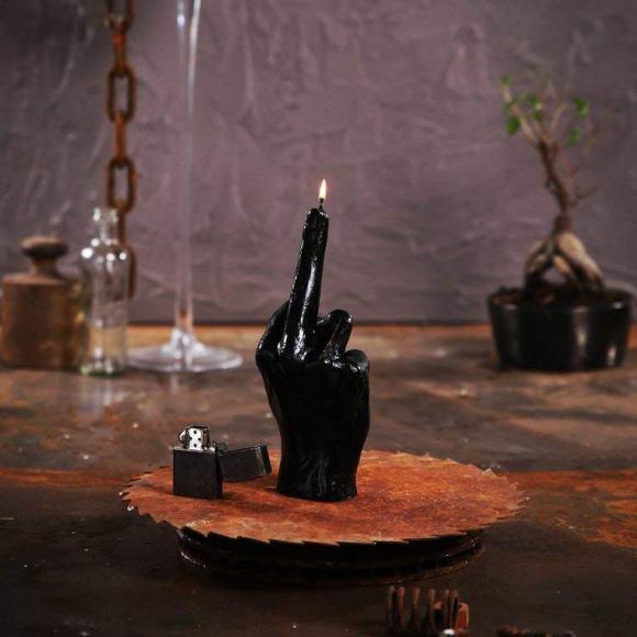 candela dito medio