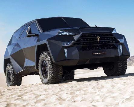 Oggetti Fantastici  karlmannking Il SUV da 4 MLN di dollari!