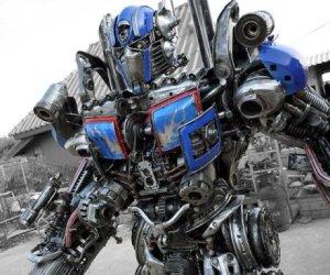 Casa & Ufficio Oggetti Fantastici  GiantDieselpunkTransformer-Regalo Dieselpunk Robot Gigante