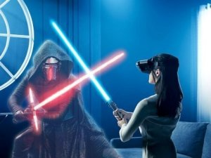Feste e Anniversari Gadget Oggetti Fantastici Regali per Ragazzi  StarWarsAugmentedRealityGame-Regalo Star Wars Jedi Challenge Realtà Aumentata