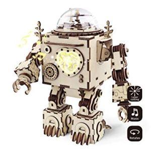 Regali per Ragazzi  Robotime3DLaserTagliaPuzzleinlegno-OrpheusFaidat-Regalo Orpheus - Puzzle 3D Robotime