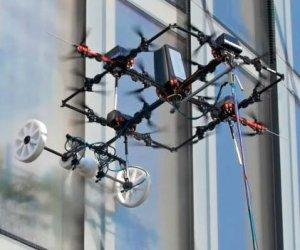 Oggetti Fantastici  WindowWashingDrone-Regalo Drone per lavaggio Finestre