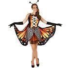 Feste e Anniversari Guide Regali per Donna  costume-da-donna-farfalla-aglais-insetto-vestito-abito-carnevale-halloween-nuovo Vestiti di carnevale da Donna: tante idee originali
