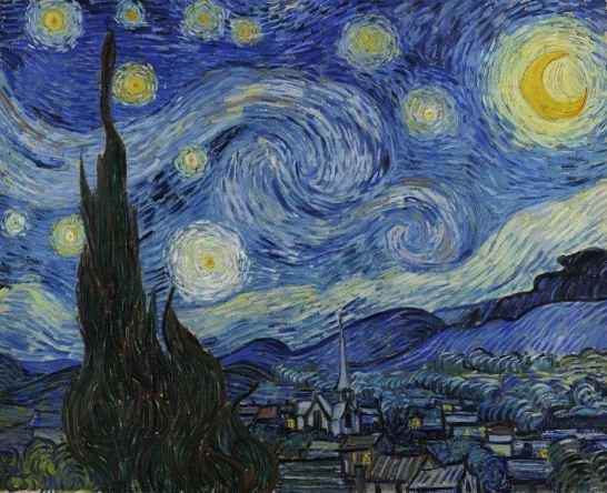 Casa & Ufficio  nottestellatadiVanGogh Nastro adesivo Notte Stellata Van Gogh