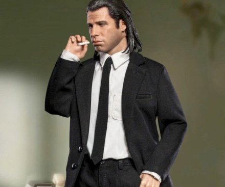 Gadget Oggetti Fantastici  PulpFictionVincentVegaActionFigure-Regalo Action figure di  Vincent Vega dal film  Pulp Fiction