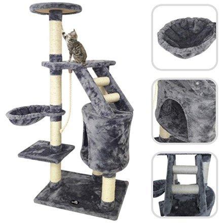 Amici Animali  Todeco-AlberoDelGattoScalatoreDiGatto-Materiale-Regalo Todeco - Gioco per gatti