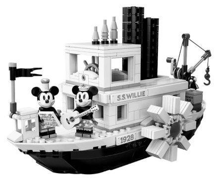 Feste e Anniversari  LEGOSteamboatWillie-Regalo LEGO Steamboat Willie