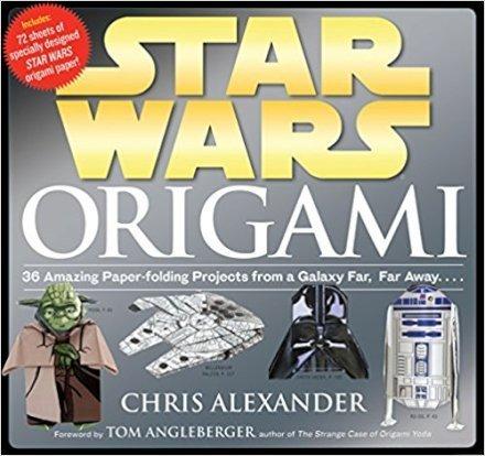 Casa & Ufficio  StarWarsOrigami36AmazingPaper-foldingProjectsfroma-Regalo Libro Star Wars Origami