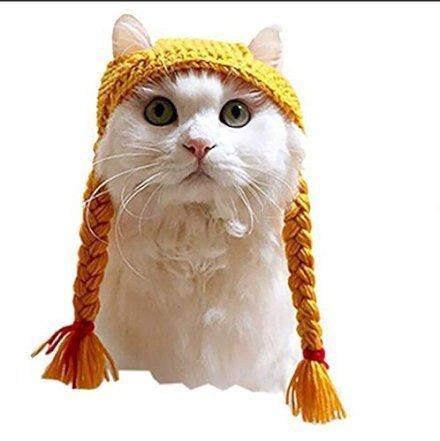 Amici Animali  ZMMApuraManoIntrecciataPacLavoratoreIntrecciataPacGa-Regalo Treccine per gatto