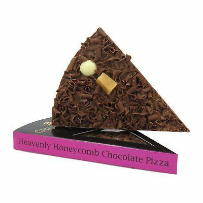 Belga Cioccolato Pizza Fetta Alveare Fudge Dolce Natale Regalo di Compleanno