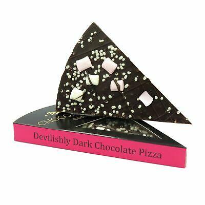 Feste e Anniversari Guide  gourmet-devilishly-cioccolata-fondente-pizza-fetta-belga-vegano Idee regalo originali per una pasqua diversa
