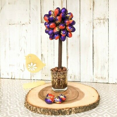 Feste e Anniversari Guide  personalised-cadbury-creme-egg-chocolate-tree-mothers-day-birthday-easter Idee regalo originali per una pasqua diversa